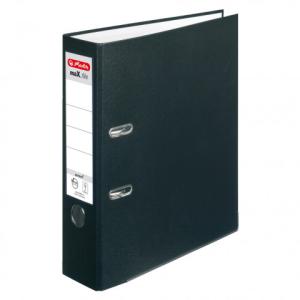 herlitz maX.file protect Ordner - DIN A4 - 8 cm - schwarz