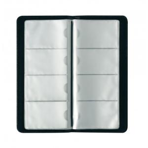 herlitz Visitenkartenmappe - 12 x 27,4 cm - 128 Karten -...