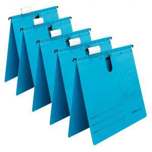 herlitz Hängehefter - DIN A4 - Kraftkarton - blau -...