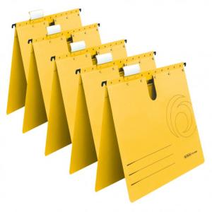 herlitz Hängehefter - DIN A4 - Kraftkarton - gelb -...
