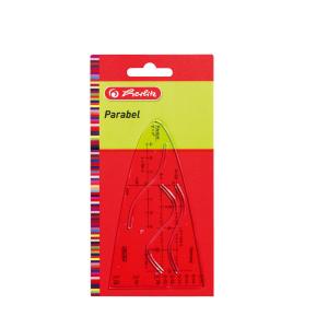 herlitz Parabel - Kunststoff - transparent - 15 cm