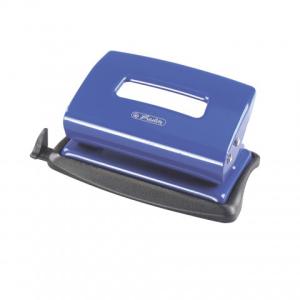 herlitz Locher - 12 Blatt - blau - Metall - mit...