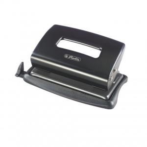 herlitz Locher - 12 Blatt - schwarz - Metall - mit...