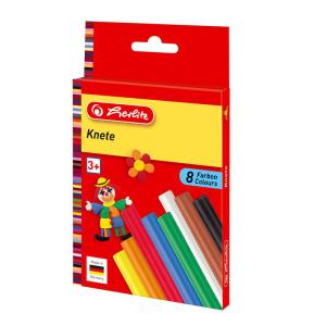 herlitz Knete - 8 Farben
