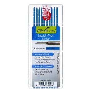 Pica Dry Ersatzminen - wasserfest - blau - 10 Stück