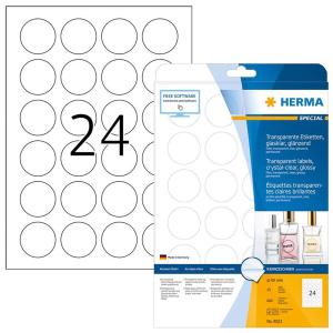 Herma 8023 SPECIAL Folienetiketten - Ø 40 mm -...