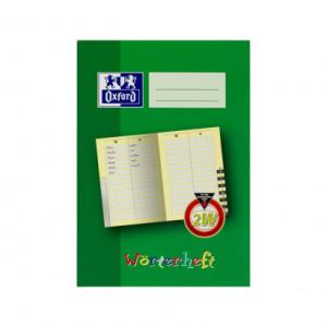 Oxford Wörterheft - DIN A5 - Lineatur 2W - 28 Blatt