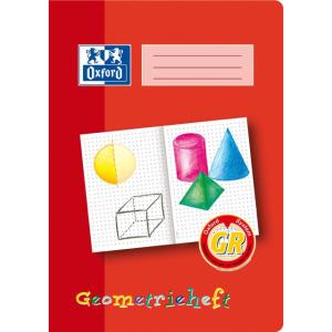 Oxford Geometrieheft - DIN A4 - Lineatur GR - 16 Blatt