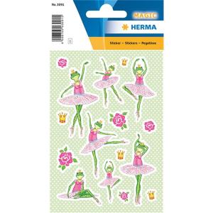 Herma 3091 MAGIC Sticker - Froschballerina