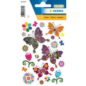 Herma 3174 MAGIC Sticker - Schmetterlingsvielfalt - 22...