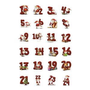 Herma 15071 DECOR Sticker - Zahlen - 72 Stück