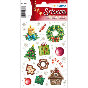 Herma 15072 DECOR Sticker - Weihnachtszeit - 36 Stück