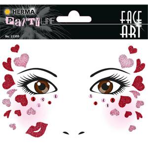 Herma 15309 FACE ART Sticker - Love