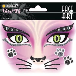 Herma 15310 FACE ART Sticker - Pink Cat