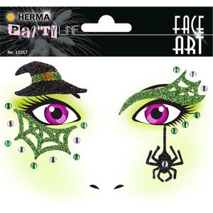 Herma 15317 FACE ART Sticker - Hexe