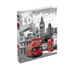 Herma Ringbuch A4 Städte London