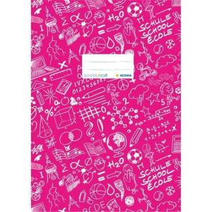 Herma 19409 SCHOOLYDOO Heftschoner - DIN A4 - pink