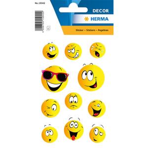 Herma 15042 DECOR Sticker - Happy Face - 33 Sticker