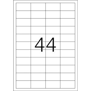 TopStick 8731 Etiketten - 48,3 x 25,4 mm - weiß -...