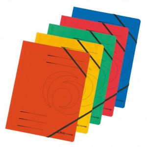 herlitz Eckspanner Quality - DIN A4 - farbig sortiert 5...