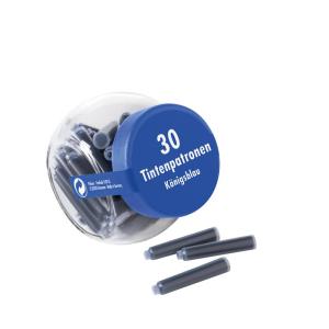 Pelikan Tintenpatronen - Glas - blau - 30 Patronen