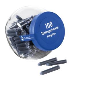 Pelikan Tintenpatronen - Glas - blau - 100 Patronen