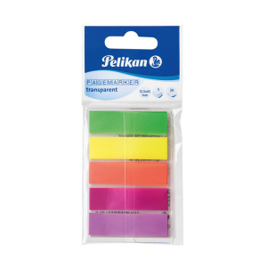 Pelikan Pagemarker - transparent - farbig - 12 x 45 mm -...