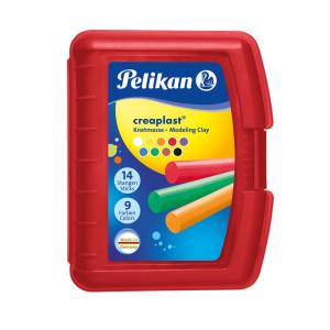 Pelikan Creaplast Knetmasse - 9 Farben