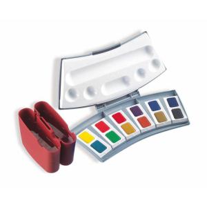 Pelikan Aquarell-Malkasten - 12 Farben