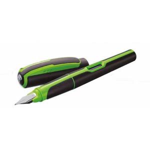 Pelikan Style P57 Füllhalter - schwarz grün - M