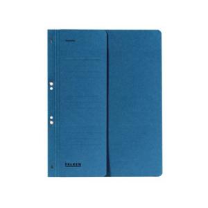 Falken Ösenhefter , A4, halb. Vorderd., blau