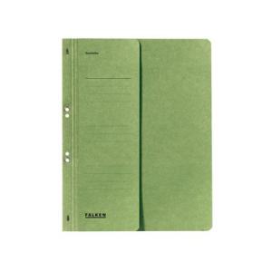 Falken Ösenhefter , A4, halb. Vorderd., grün
