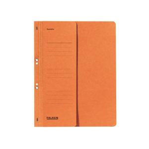 Falken Ösenhefter , A4, halb. Vorderd., orange
