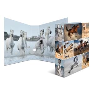 Herma 7164 Motivordner - DIN A4 - Karton - Tiere - Pferde