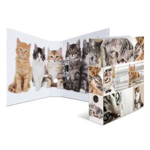 Herma 7166 Motivordner - DIN A4 - Karton - Tiere - Katzen
