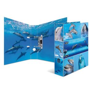 Herma 7167 Motivordner - DIN A4 - Karton - Tiere - Delphine