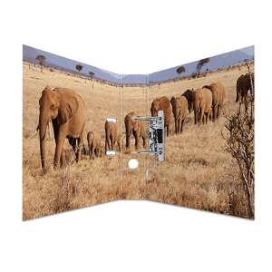 Herma 7168 Motivordner - DIN A4 - Karton - Tiere - Afrika