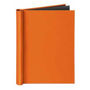 VELOFLEX Klemmbinder VELOCOLOR - DIN A4 - Karton - orange