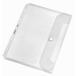 VELOFLEX Dokumentenhülle Crystal - DIN A4 - PP - mit...
