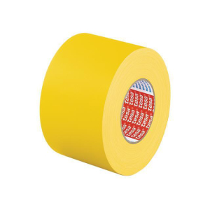 tesa Premium Gewebeband - 25 m x 50 mm - gelb