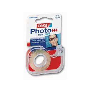 tesa Photo Film - doppelseitig Klebend - 7,5 m x 12 mm -...