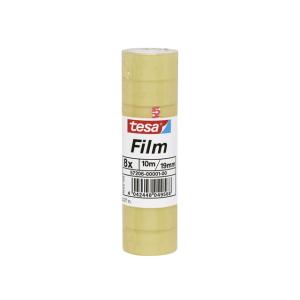 tesa Klebefilm Standard - 10 m x 19 mm - transparent - 8...