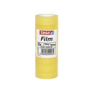 tesa tesafilm Standard - 33 m x 19mm - 8 Rollen
