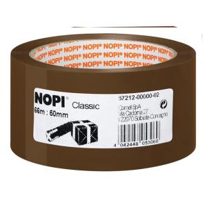 NOPI Packband Classic - 66 m x 50 mm - braun