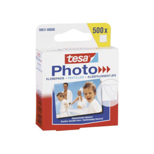 tesa Photo Klebepads - 500 Stück - weiß