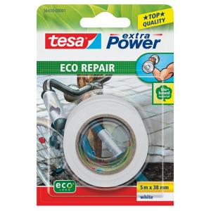 tesa extra Power eco Repair - 5 m x 38 mm - weiß