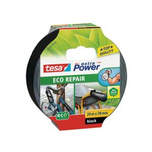 tesa extra Power eco Repair - 20 m x 38 mm - schwarz