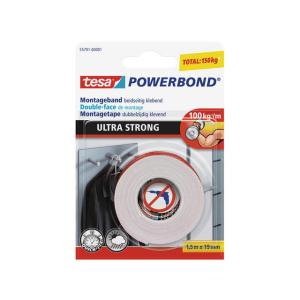 tesa Powerbond Montageband - Ultra Strong - 1,5 m x 19 mm