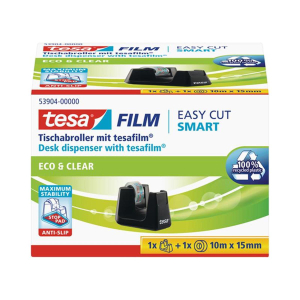 Tesa Tischabroller Smart ecoLogo + 1 Rolle Eco&Clear...