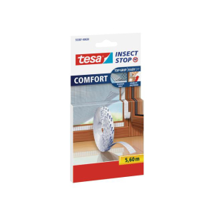 tesa Insect Stop Klettband für Fliegengitter Comfort...